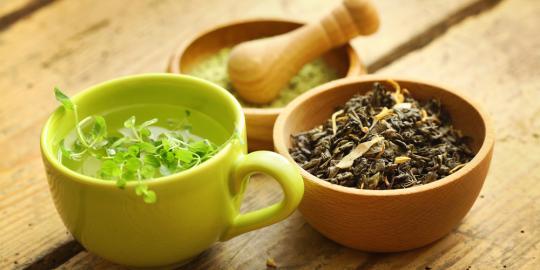 Teh Herbal Bisa Mengatasi Stres